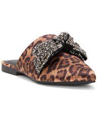 Jessica Simpson - Cesely Sparkle Bow Slides - Lyst