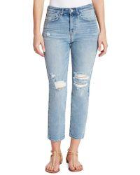 William Rast - So Cheeky Slim-leg Ankle Jeans - Lyst