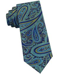 Ted Baker - Oversized-paisley Silk Tie - Lyst