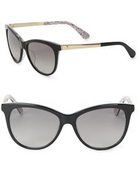 Kate Spade - 55mm Jizelle Cat Eye Sunglasses - Lyst