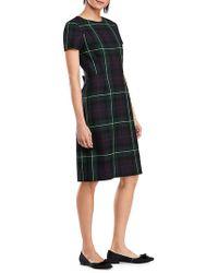 Brooks Brothers Red Fleece - Windowpane A-line Dress - Lyst