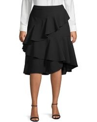 Vince Camuto - Plus Ruffle Skirt - Lyst