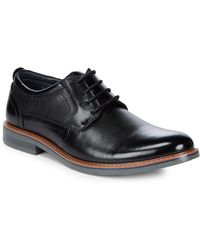 Steve Madden | Oakes Leather Derby Shoes | Lyst