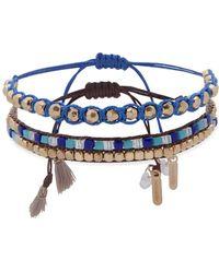 Lonna & Lilly Goldtone & Crystal Slider Bracelet - Metallic