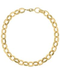 Laundry by Shelli Segal - Goldtone Chain Link Necklace - Lyst