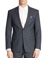 William Rast - Tonal Suit Jacket - Lyst