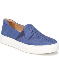 Naturalizer - Carly Leather Slip-on Trainers - Lyst