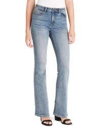 Jessica Simpson Adored High Rise Flare Jeans - Blue