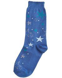 Hue - Ruffled-trimmed Socks - Lyst