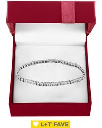 Effy - Boxed Super Buy 14k White Gold & 0.51 Tcw Diamond Tennis Bracelet - Lyst