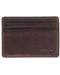 Boconi - Tyler Leather Slim Id Card Case - Lyst