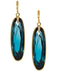 Vince Camuto - Crystal Statement Drop Earrings - Lyst