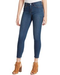 Jessica Simpson Kiss Me Ankle Skinny Jeans - Blue