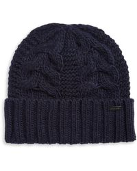Michael Kors - Cable-knit Beanie - Lyst