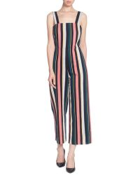 72fe4a373233 Catherine Malandrino - Tuesday Striped Cotton Jumpsuit - Lyst