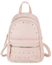 Lord & Taylor - Faux Pearl Classic Backpack - Lyst