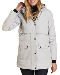 c3bfb6a06 Barbour - Weather Comfort Altair Hooded Jacket - Lyst