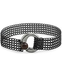 Mango - Afri Braided Belt - Lyst