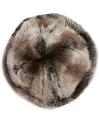 Parkhurst - Shonna Faux Fur Beret - Lyst