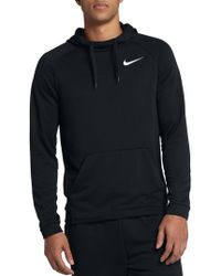 Nike Fleece Logo Hoodie - Black