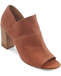Me Too - Mckenna Leather Ankle Boots - Lyst