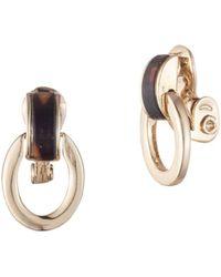 Ralph Lauren - Link Clip-on Earrings - Lyst