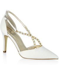 Adrianna Papell - Aurora D'orsay Pearled Strappy Court Shoes - Lyst