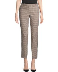 Tommy Hilfiger - Slim-fit Checkered Pants - Lyst