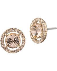 0bc316507 Dolce & Gabbana Escape Goldplated Swarovski Crystal Clip Earrings in ...