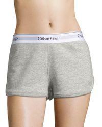 CALVIN KLEIN 205W39NYC - Modern Lounge Shorts - Lyst