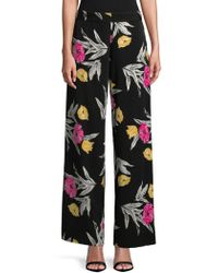 Isaac Mizrahi New York - Wide-leg Trousers - Lyst