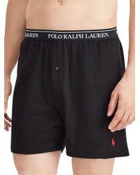 Polo Ralph Lauren 3-pack Classic-fit Cotton Boxers - Black