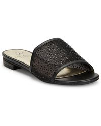 Adrianna Papell - Studded Slip-on Sandals - Lyst