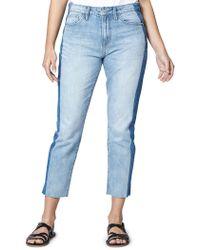 Sanctuary - Modern High Waist Crop Jeans - Lyst