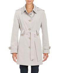 Gallery - Belted Trenchcoat - Lyst