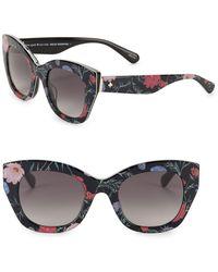Kate Spade - 49mm Jalena Cat Eye Sunglasses - Lyst