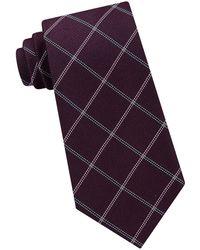 Michael Kors - Stonehurst Grid Silk Tie - Lyst