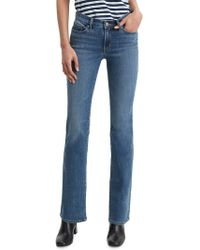 Levi's 715 Western Bootcut Jeans - Blue