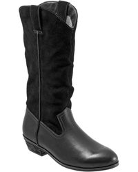 Softwalk - Rock Creek Leather Wide Mid-calf Boots - Lyst