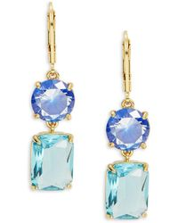 Kate Spade - Shine On Geo-shaped Drop Earrings - Lyst