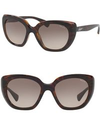 Pink Pony - 54mm Cat Eye Sunglasses - Lyst