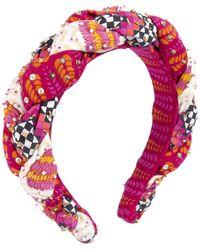 Deepa by Deepa Gurnani Vilina Headband - Pink