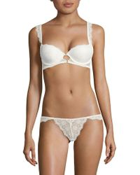 Lyst - French Connection Signature Lace T-shirt Bra in Black 14b3888f4