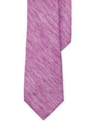 Lauren by Ralph Lauren   Herringbone Linen-silk Tie   Lyst