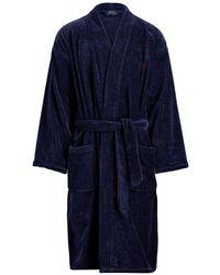 Polo Ralph Lauren - Big & Tall Cotton Robe - Lyst