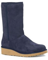 UGG - Amie Pure Suede Boots - Lyst