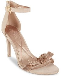 Kenneth Cole Reaction - Smash Ful-3 Embellished Dress Sandals - Lyst