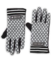 Karl Lagerfeld Women's Quilted Stitch Gloves - Black