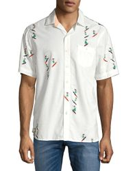 Tommy Bahama - Hula-gals Shirt (lychee) Clothing - Lyst