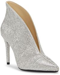 Jessica Simpson - Lasvia Embellished Shimmer Booties - Lyst